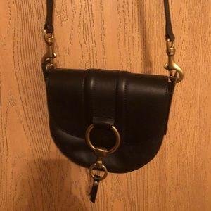 Frye Small Leather Saddle Bag